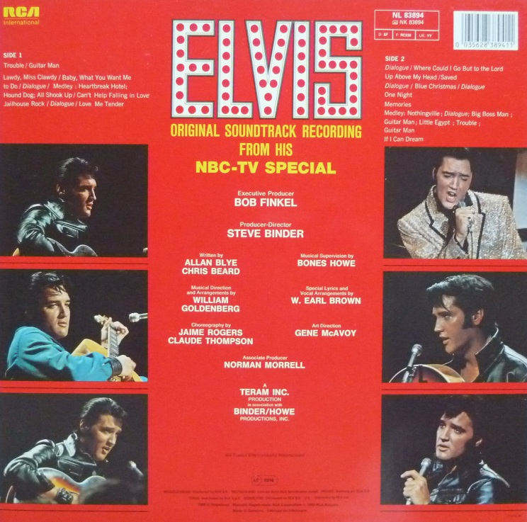 ELVIS (NBC) TV Special Nbc90rckseite9wj5c
