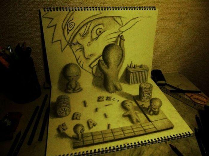 Rysunki 3D #3 13