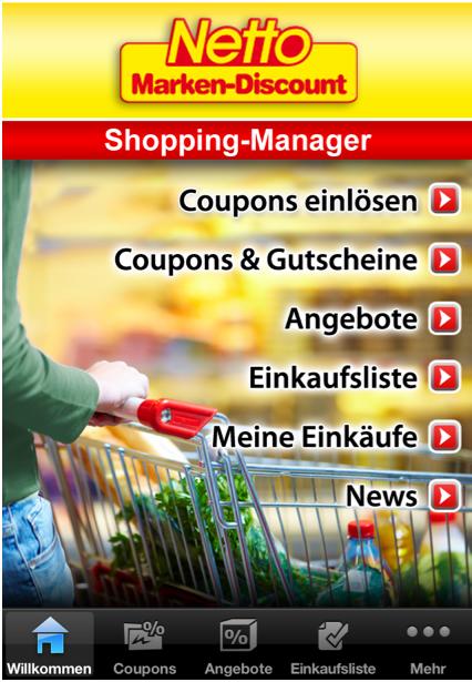 """Der """"Netto Shopping Manager"""" überzeugt in der Theorie mit tollen Funktionen, die aufgrund der mangelnden Schulung der Mitarbeiter leider nicht nutzbar sind."""
