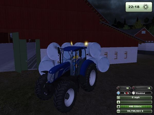 NewHolland 7070 Bluepower –  Farming Simulator 2013 Mod