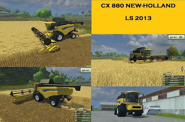 New Holland CX 880 ls2013 New-hollnad-cx-880kfumh