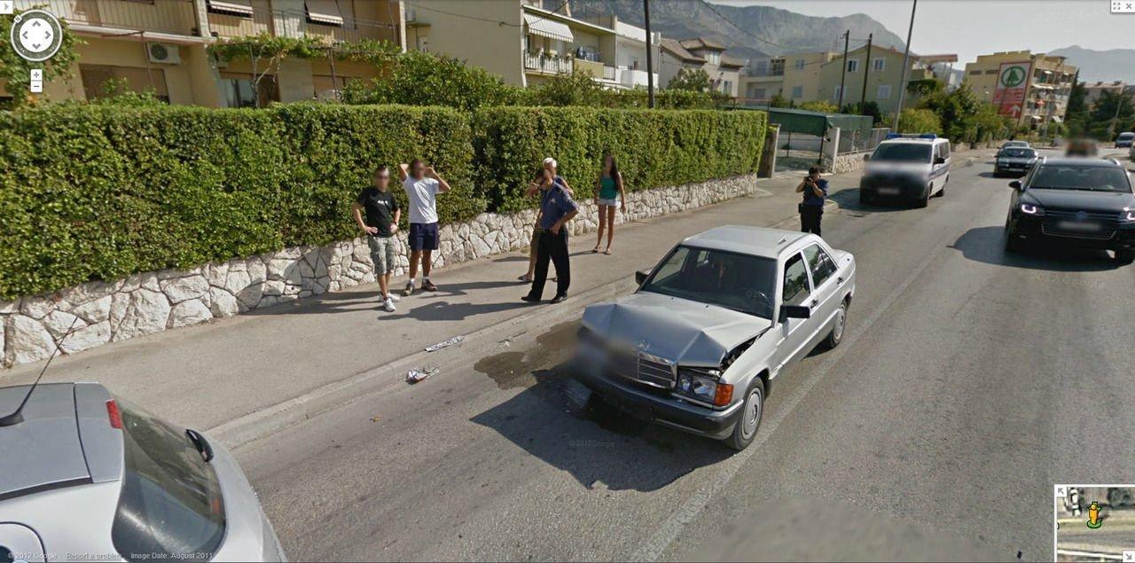 Nietypowe sceny z Google Street View #2 26