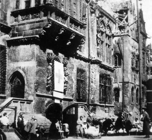 Wrocław  1945 Zniszczenia 118