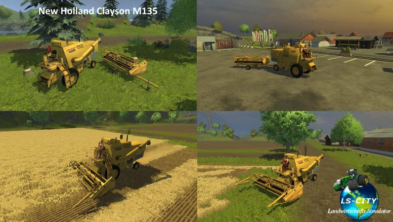 NH Clayson M135 MT