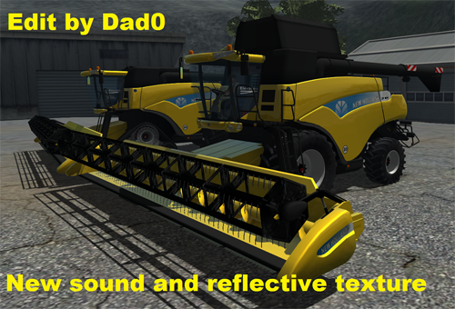 New Holland CR9090 Elevation v1.1 2011 (Reflective)