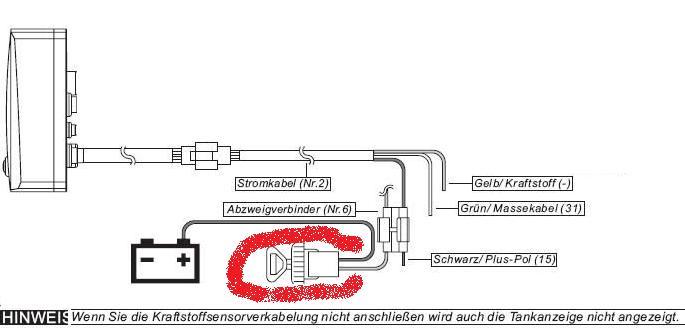 Wunderbar Schaltplan Für Die Automatische Kraftstoffanzeige Fotos ...