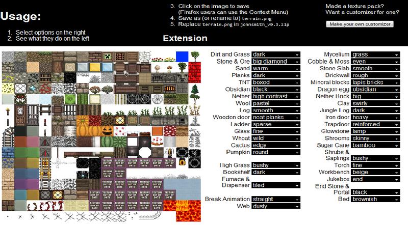 minecraft texture pack john smith 1.2.5 download