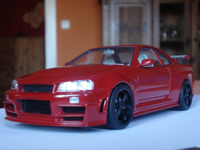 thema anzeigen nissan skyline r34 z tune in rot. Black Bedroom Furniture Sets. Home Design Ideas