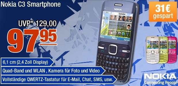 Smartphone Nokia C3