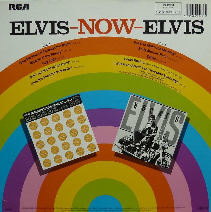 ELVIS NOW Now85rckseitexhz4l