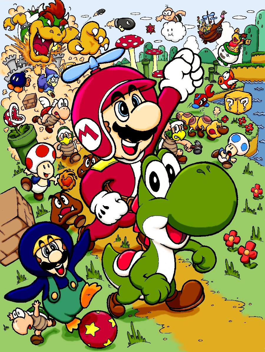 Fantastisch Super Mario Bros Wii Ausmalbilder Galerie - Entry Level ...