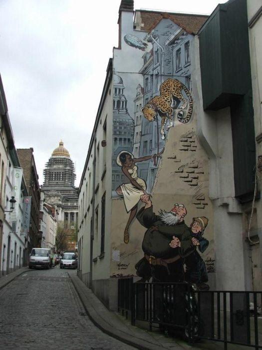 Street Art: Belgia 12