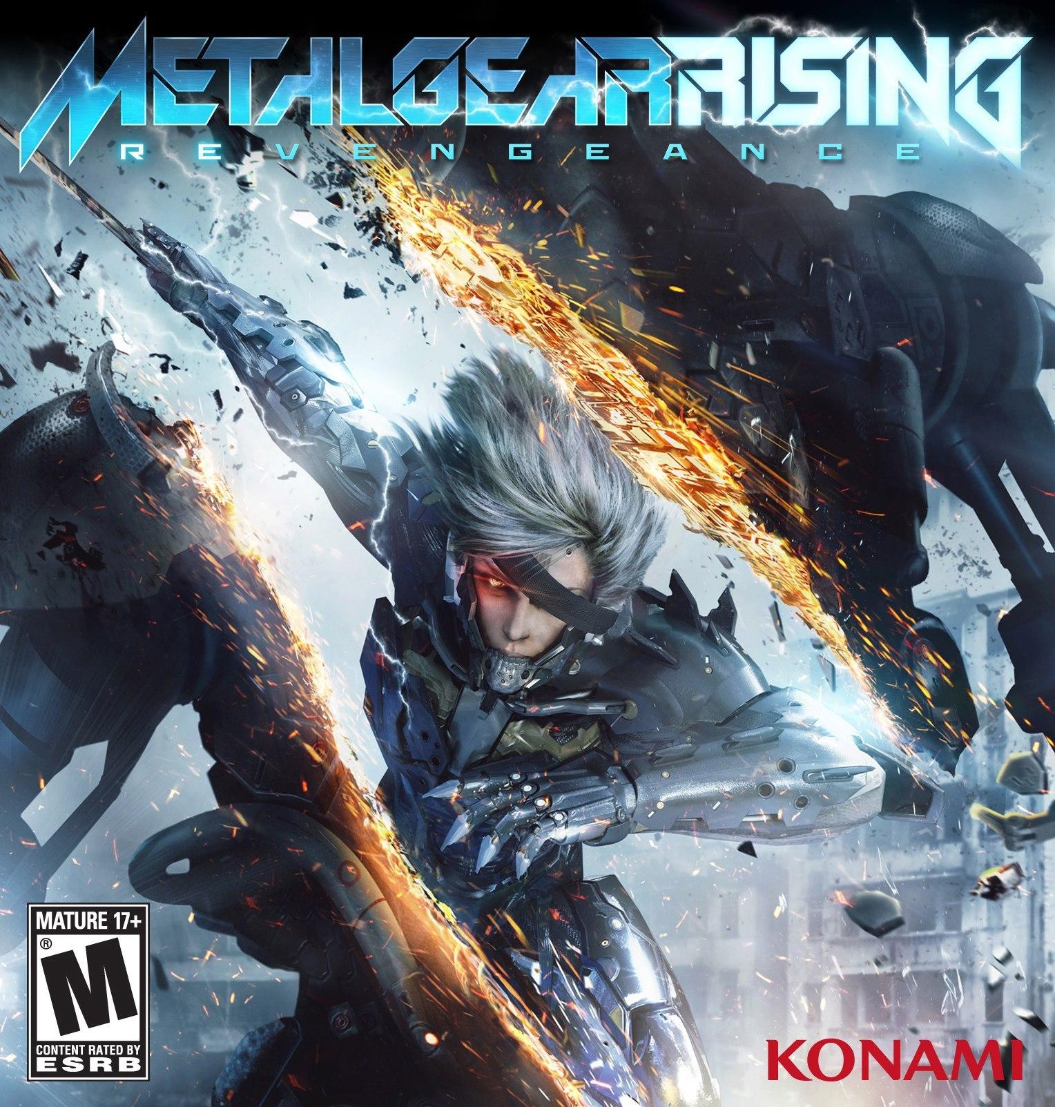 Jaquette américaine de Metal Gear Rising