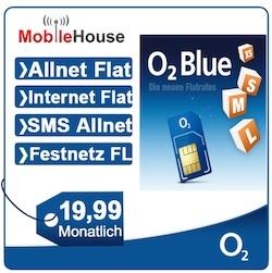 O2 Blue M Flatrate