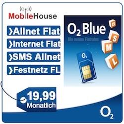 O2 Blue M Allnetflat