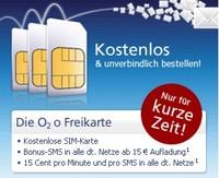 O2 Freikarte kostenlos