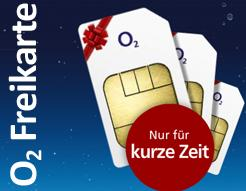 o2 Freikarte kostenlos