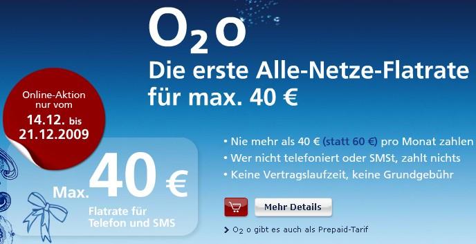 O2 o Handyvertrag mit Kostenairbag von 40 Euro