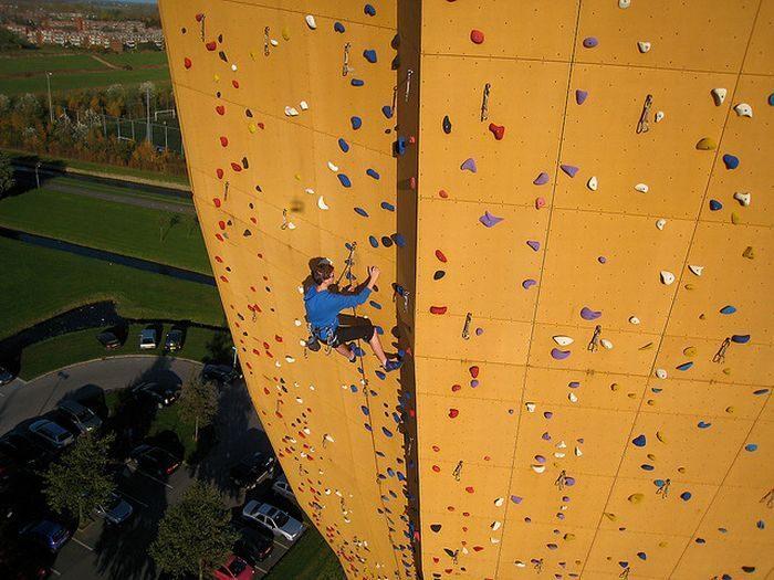 Excalibur - najwyższa ścianka wspinaczkowa 7
