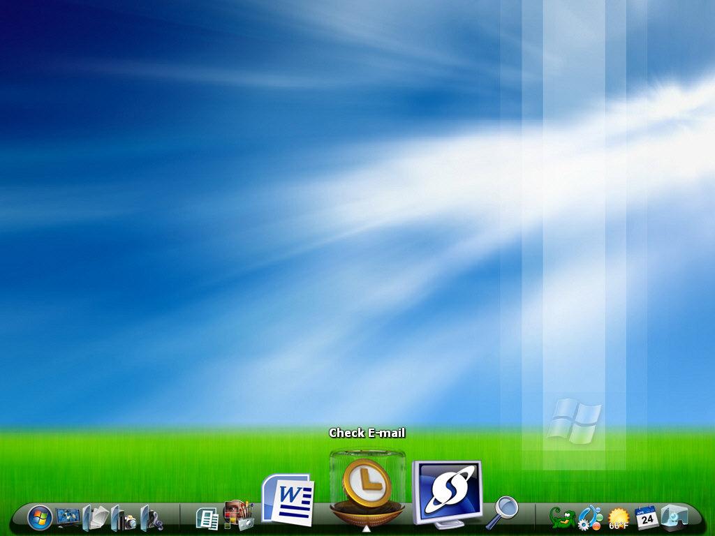 Nueva barra de tareas animada para Windows