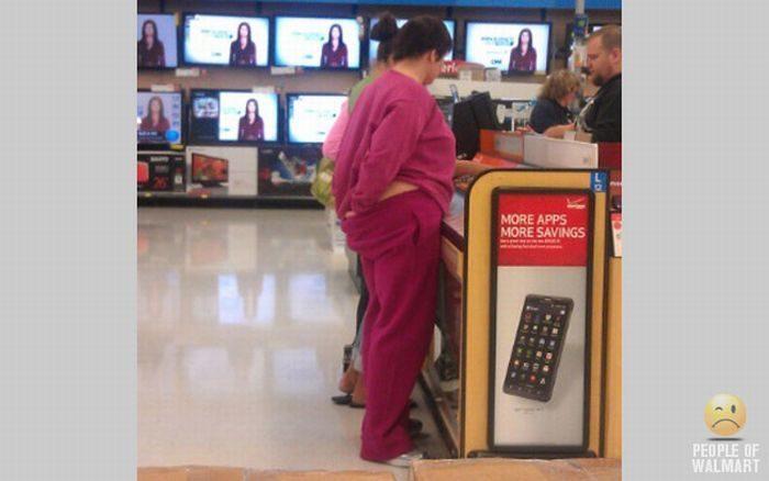 Najdziwniejsi klienci z WalMart #10 8