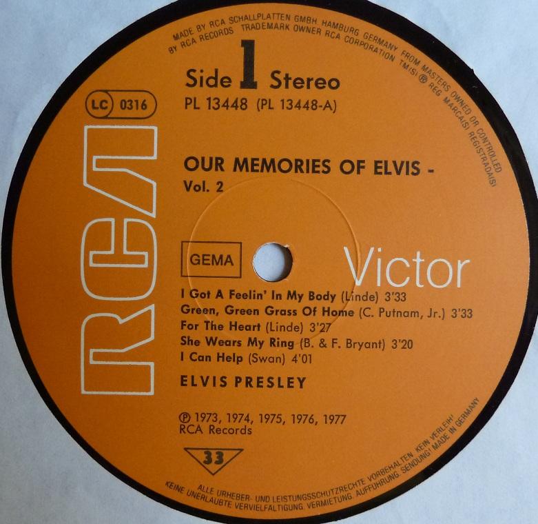 OUR MEMORIES OF ELVIS VOL.2 Omoevol2side1h3uro