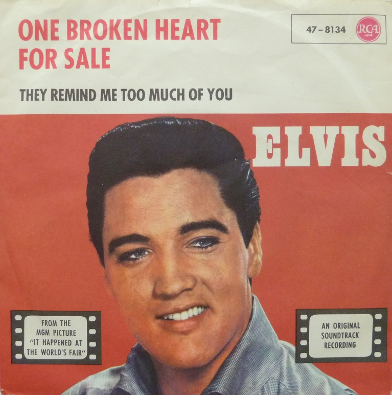 One Broken Heart For Sale / They Remind Me Too Much Of You Onebrokenfrontqbl94