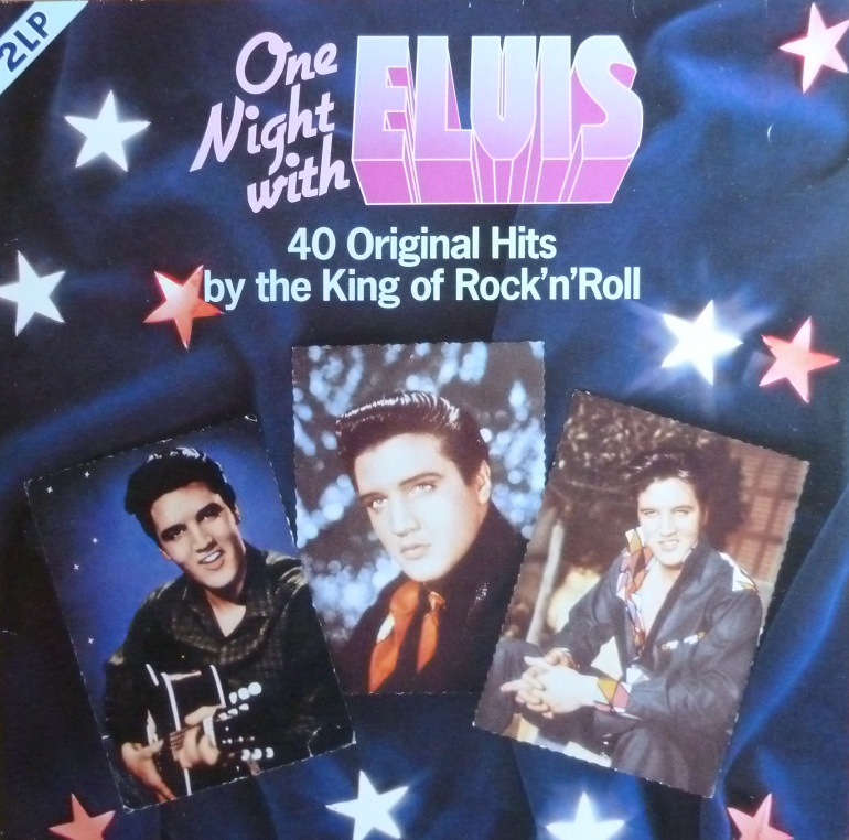 ONE NIGHT WITH ELVIS - 40 ORIGINAL HITS BY THE KING OF ROCK'N'ROLL Onenightwe85frontwhud7