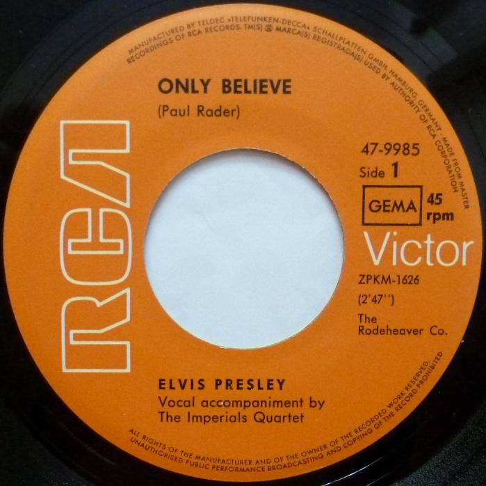 Only Believe / Life Onlybelieveside1lquio