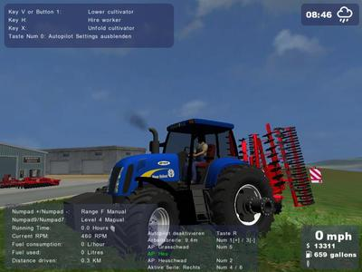 New Holland TG285 AutoQuad+(AP)