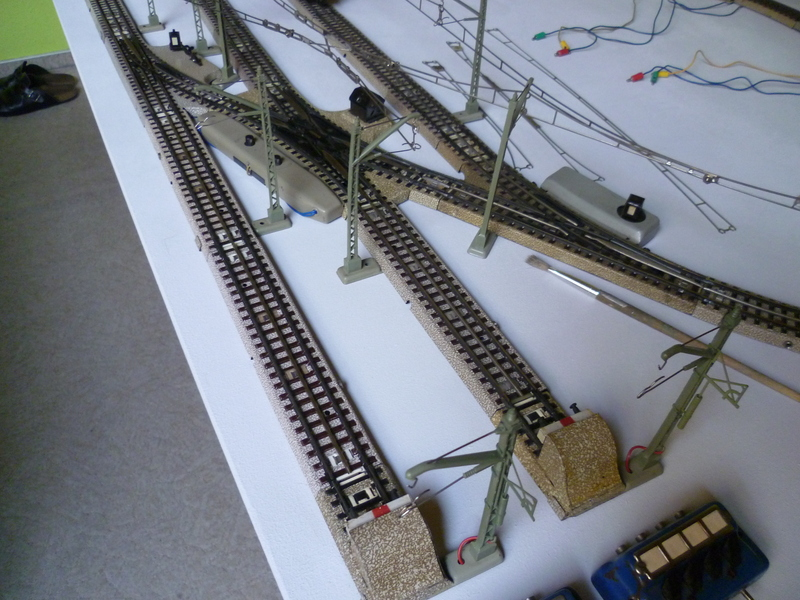 Märklin Nostalgieanlage im Bau P10300027fxj7