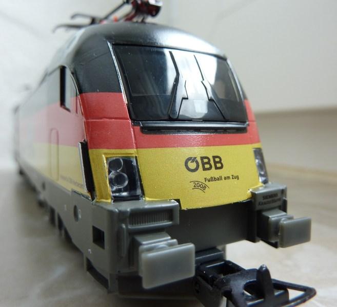 Piko 71216 1116 036-3 Deutschland Taurus EM 2008 P1040368zhxf