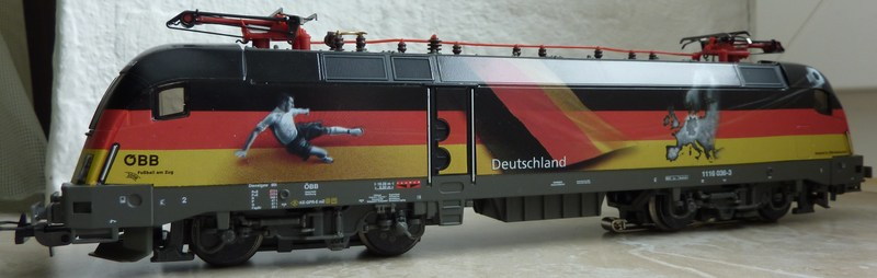 Piko 71216 1116 036-3 Deutschland Taurus EM 2008 P10403695d8y