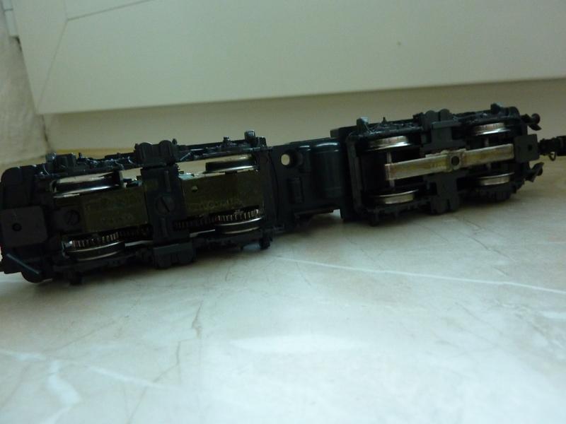 Märklin 3155 111 136-8 Umbau auf Lichtwechsel (in Vorbereitung) P1050103r74r