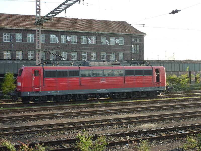 Verkehrsrote Railion Loks  P105015743fdz