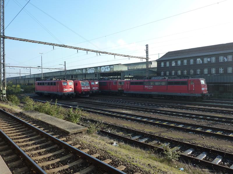 Verkehrsrote Railion Loks  P105018683csk