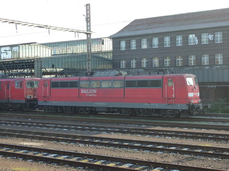 Verkehrsrote Railion Loks  P10501939reb3