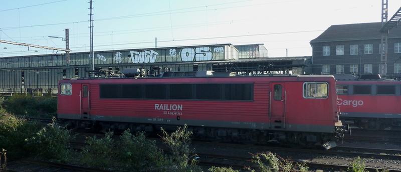 Verkehrsrote Railion Loks  P10501941buiu