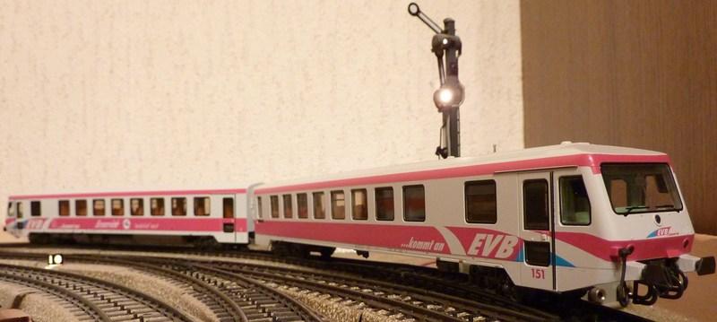 Märklin 33761 BR 628 der EVB umgebaut auf 37763 P1060054hfjh8