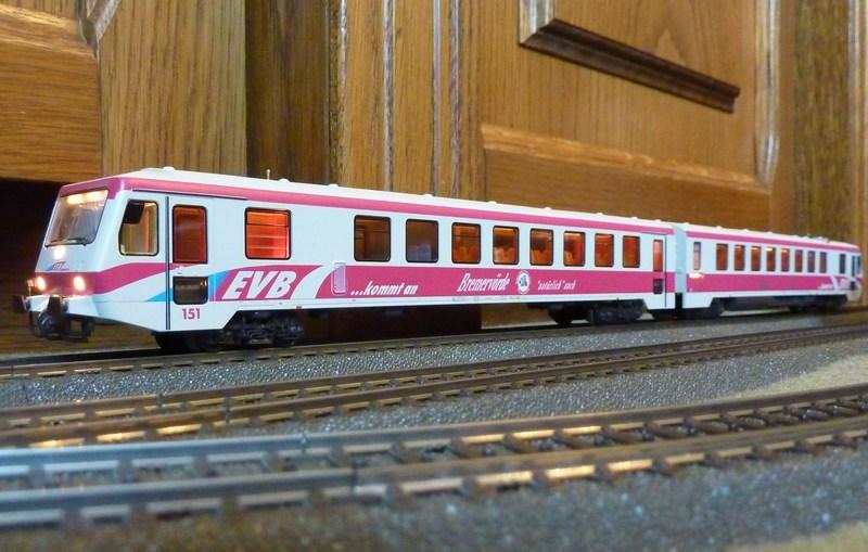 Märklin 33761 BR 628 der EVB umgebaut auf 37763 P1060748q7klo