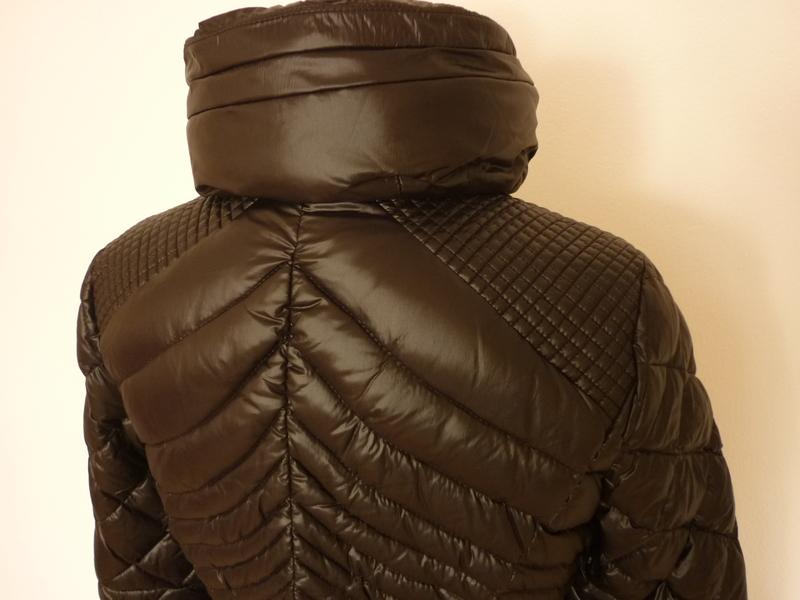 blauer usa damen daunen mantel steppmantel gr l 36 schwarz ebay. Black Bedroom Furniture Sets. Home Design Ideas