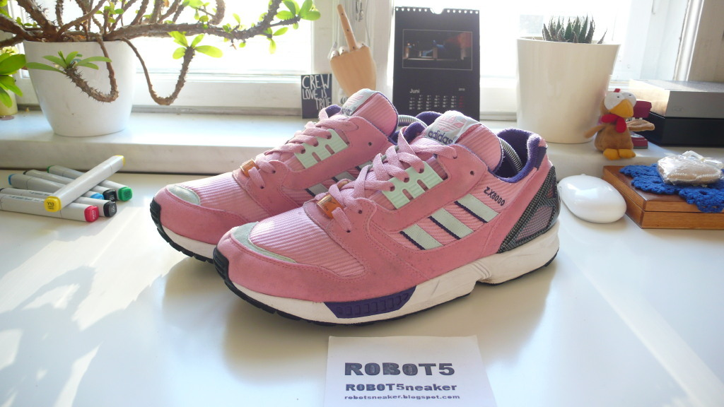 ADIDAS ZX 8000 C OKI-NI. SIZE: UK 10 US 10.5 EUR 44 2/3. CONDITION:  USED...with a few marks of wear and without OG-BOX PRICE: SOLD!!!