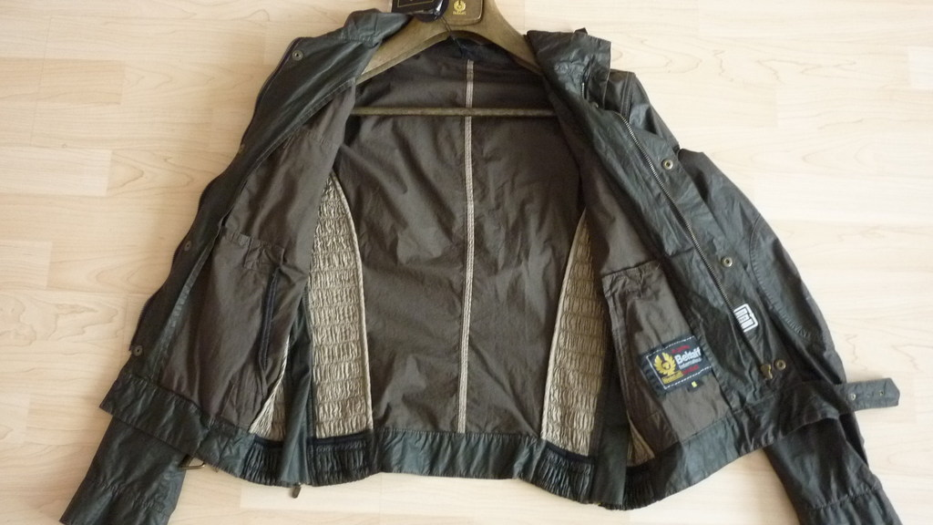 belstaff mens jacket gangster blouson man size m xl xxl military green 711407 ebay. Black Bedroom Furniture Sets. Home Design Ideas