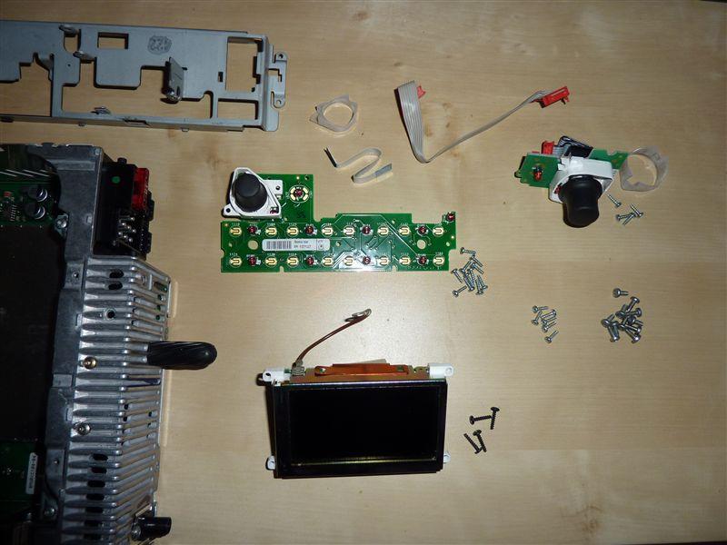 business navigations kassetten radio beleuchtung ndern. Black Bedroom Furniture Sets. Home Design Ideas