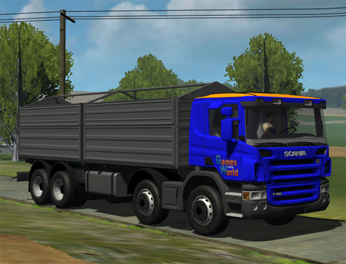 Scania P420 GWo Edit