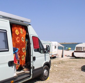 Camping in 23.Mai