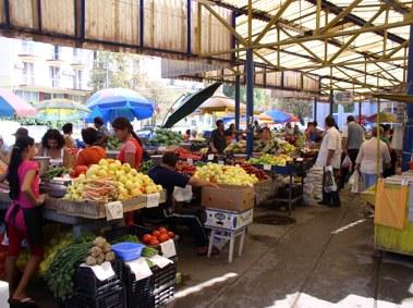Tulcea, Markt
