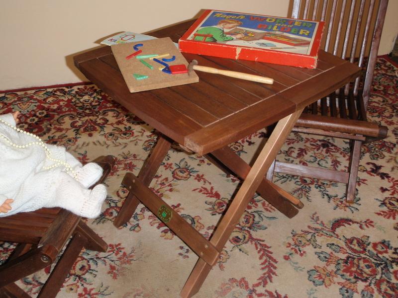 kinder gartenm bel holz teak kings garden top ebay. Black Bedroom Furniture Sets. Home Design Ideas