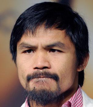 """Schlecht gelaunt: Manny """"Pac-Man"""" Pacquiao. (Foto: Manilatimes.net/AFP)"""