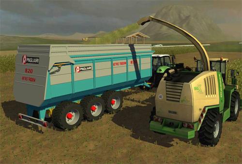 Ремаркета и други машини шарнирно закачваеми Pagliari3u951ad3